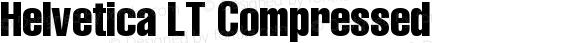 Helvetica LT Compressed