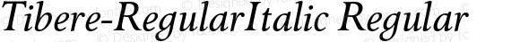 Tibere-RegularItalic Regular 004.460