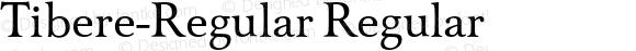 Tibere-Regular Regular 004.460