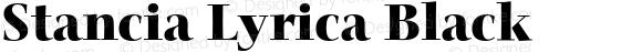 Stancia Lyrica Black Version 001.001