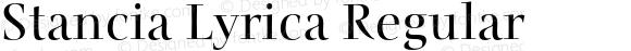 Stancia Lyrica Regular Version 001.001