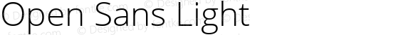 Open Sans Light Version 1.10