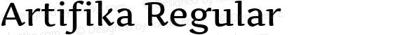 Artifika Regular Version 1.001