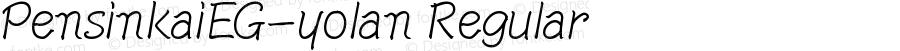 PensinkaiEG-yolan Regular Version 2.00 November 1, 2010