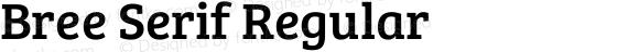 Bree Serif Regular