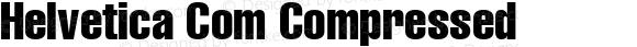 Helvetica Com Compressed
