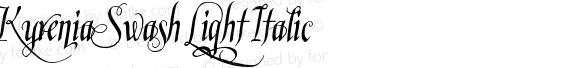 Kyrenia Swash Light Italic