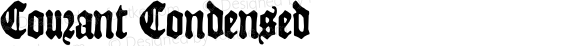 Courant Condensed