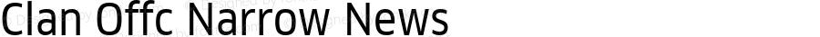 Clan Offc Narrow News Version 7.504; 2010; Build 1020