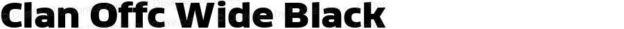 Clan Offc Wide Black Version 7.504; 2010; Build 1020