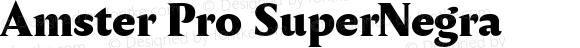 Amster Pro SuperNegra Version 1.000;PS 001.000;hotconv 1.0.70;makeotf.lib2.5.58329