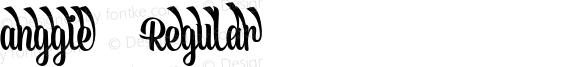 anggie 5 Regular Version 1.000;PS 001.001;hotconv 1.0.56