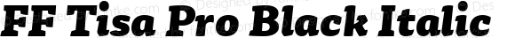 FF Tisa Pro Black Italic Version 7.504; 2010; Build 1023;com.myfonts.easy.fontfont.tisa-pro.black-italic.wfkit2.version.4gg1