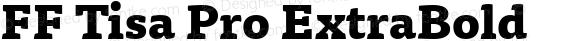 FF Tisa Pro ExtraBold Version 7.504; 2010; Build 1023;com.myfonts.easy.fontfont.tisa-pro.extrabold.wfkit2.version.4gjK