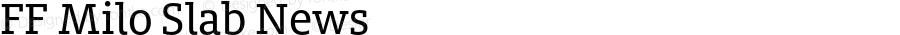 FF Milo Slab News Version 7.504; 2014; Build 1020