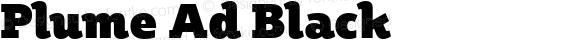 Plume Ad Black