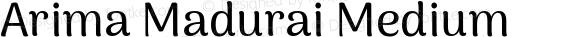 Arima Madurai Medium