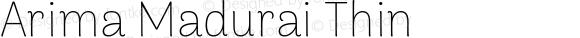 Arima Madurai Thin