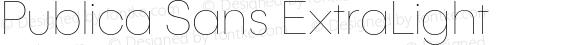 PublicaSans-ExtraLight