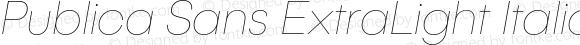 PublicaSans-ExtraLightItalic