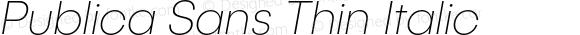 PublicaSans-ThinItalic