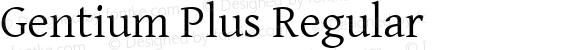 Gentium Plus Regular