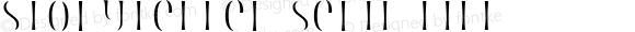 Storyteller Serif