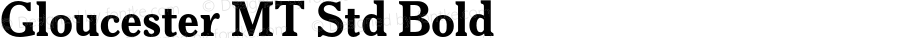 Gloucester MT Std Bold Version 1.000;PS 001.000;hotconv 1.0.38;com.myfonts.easy.mti.gloucester-old-style-mt.std-bold.wfkit2.version.3MQF