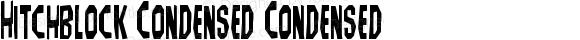 Hitchblock Condensed Condensed