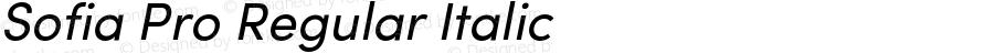 SofiaProRegular-Italic