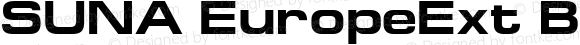 SUNA EuropeExt Bold