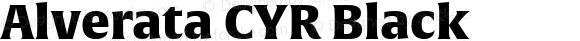 Alverata CYR Black Version 1.001