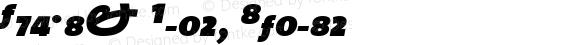 TheMix Black Italic Version 1.0
