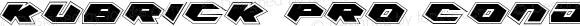 Kubrick Pro Condensed Condensed