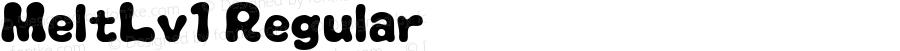 MeltLv1 Regular Macromedia Fontographer 4.1J 07.7.16
