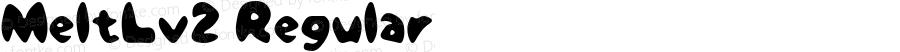 MeltLv2 Regular Macromedia Fontographer 4.1J 07.7.16