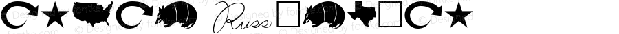 Armad Regular Altsys Fontographer 3.5  3/3/4