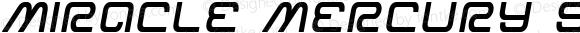 Miracle Mercury Semi-Bold Semi-Italic Semi-Bold Semi-Italic