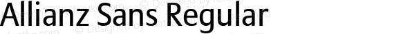 Allianz Sans Regular Version 1.00