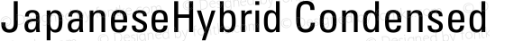 JapaneseHybrid Condensed