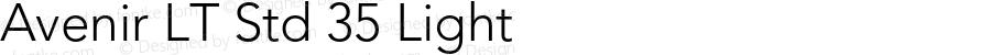 Avenir LT Std 35 Light Version 2.105;PS 005.000;hotconv 1.0.67;makeotf.lib2.5.33168