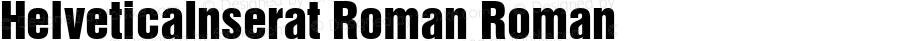 HelveticaInserat Roman Roman 001.000