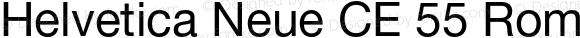 Helvetica Neue CE 55 Roman 001.000