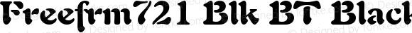 Freefrm721 Blk BT Black