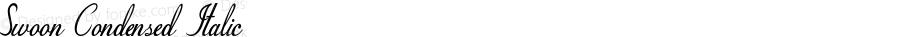 Swoon-CondensedItalic