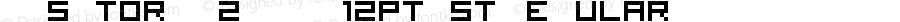 Visitor TT2 BRK_12pt_st Regular Version 1.0 Extracted by ASV http://www.buraks.com/asv
