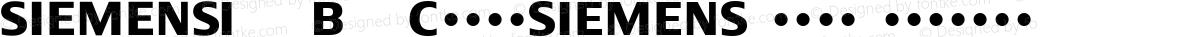 Siemens Logo Regular