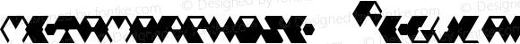 metamorphose Regular Macromedia Fontographer 4.1J 01.9.4