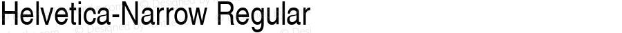 Nimbus Sans L Regular Condensed
