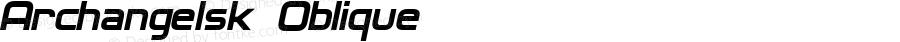 Archangelsk Oblique